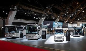выставка автобусов
