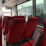 автобус man regio сиденья