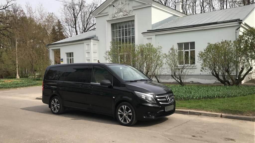 микроавтобус V-класс мерседес арендовать
