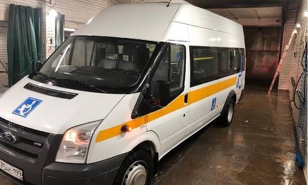 микроавтобус для перевозки инвалидов