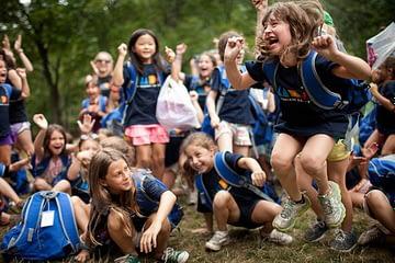 трансфер детей в лагерь