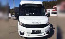 автобус foxbus турист спереди