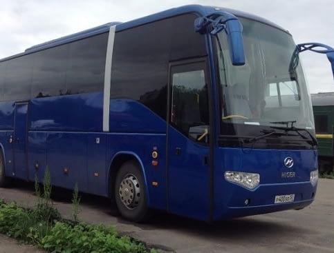 автобус 6119 higer аренда
