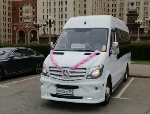 аренда микроавтобуса Sprinter
